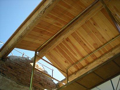 Ristrutturazioni tettoie legno