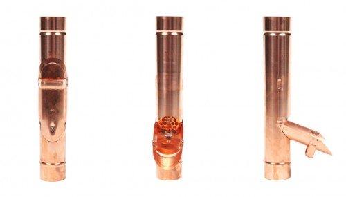 Travasatore tubo pluviale