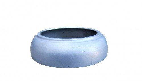 Borchia tubo pluviale alluminio
