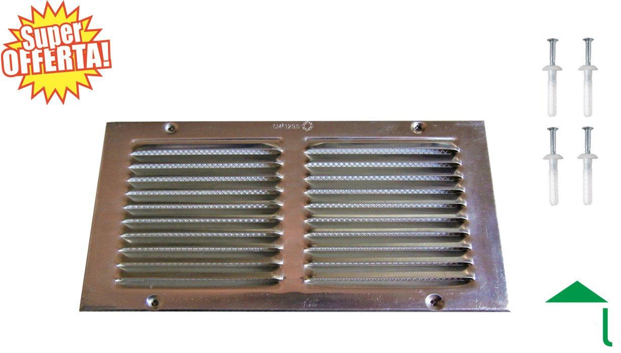 Griglia aerazione ventilazione forzata bagno cucina tetto camino o cabina armadio - Ventilazione forzata bagno ...